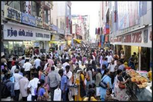 shopping pondicherry rush